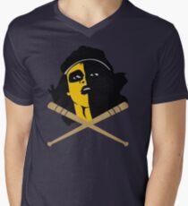 Baseball Furies Skull & Crossbones Men's V-Neck T-Shirt