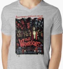 The Warriors Poster Men's V-Neck T-Shirt
