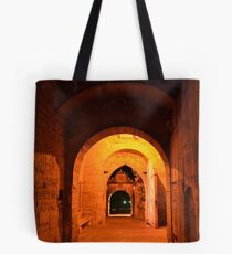 Rothenburg West Gate Inside at Night Tote Bag