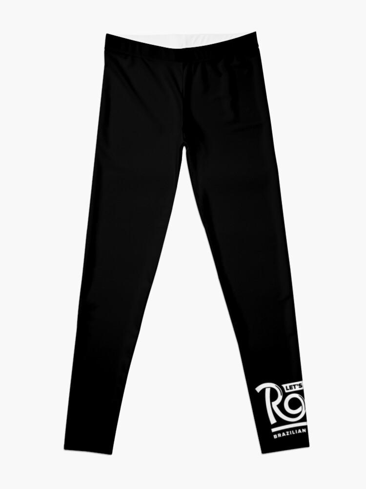 Let's Roll Brazilian Jiu-Jitsu White Belt | Leggings