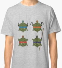 Undefined Age Martial Artist Tortoises Classic T-Shirt