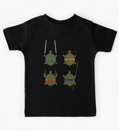 Undefined Age Martial Artist Tortoises Kids Clothes