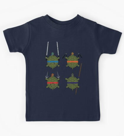 Undefined Age Martial Artist Tortoises Kids Clothes