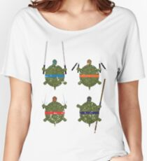 Undefined Age Martial Artist Tortoises Women's Relaxed Fit T-Shirt
