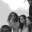 1982 - allmendfest: the friends by Ursa Vogel