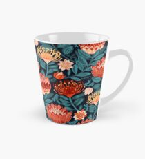 Protea Chintz - Navy Tall Mug