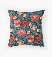 Protea Chintz - Navy Floor Pillow