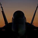 Sunday Sunrise F/A-18 #44 by AlMiller