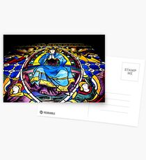 Stained Glass Painting Postcards