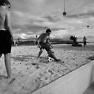 beach football by PeterDamo
