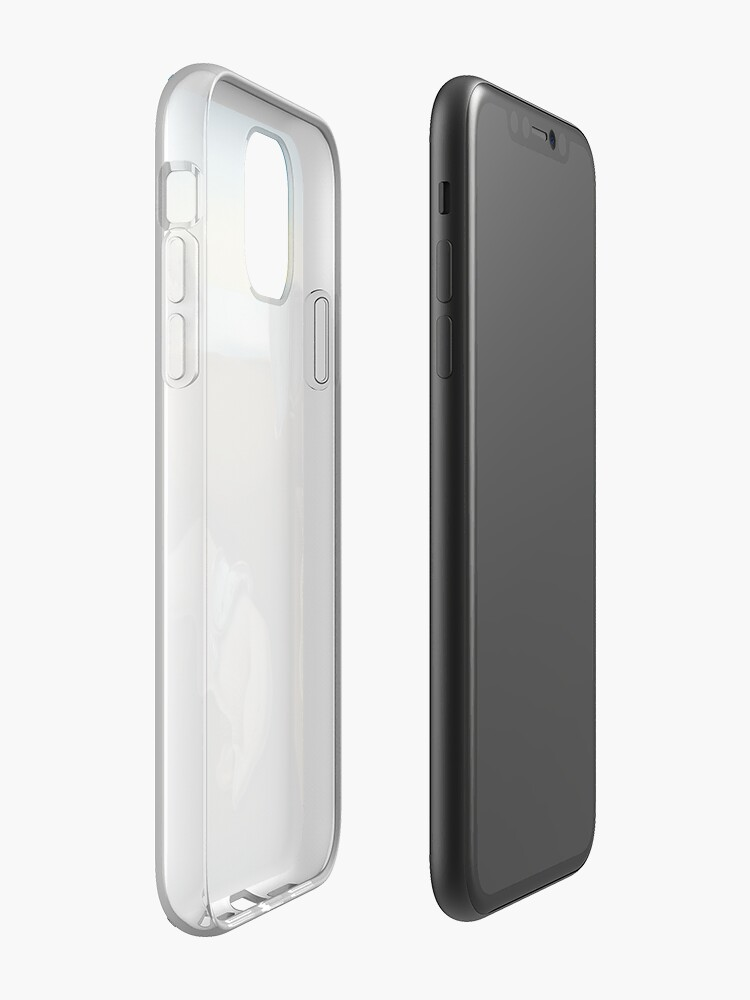 Coque iPhone « PERSISTANCE DU TEMPS », par KRNTH