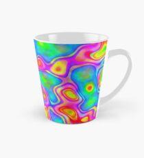Random virtual color pixel abstraction Tall Mug