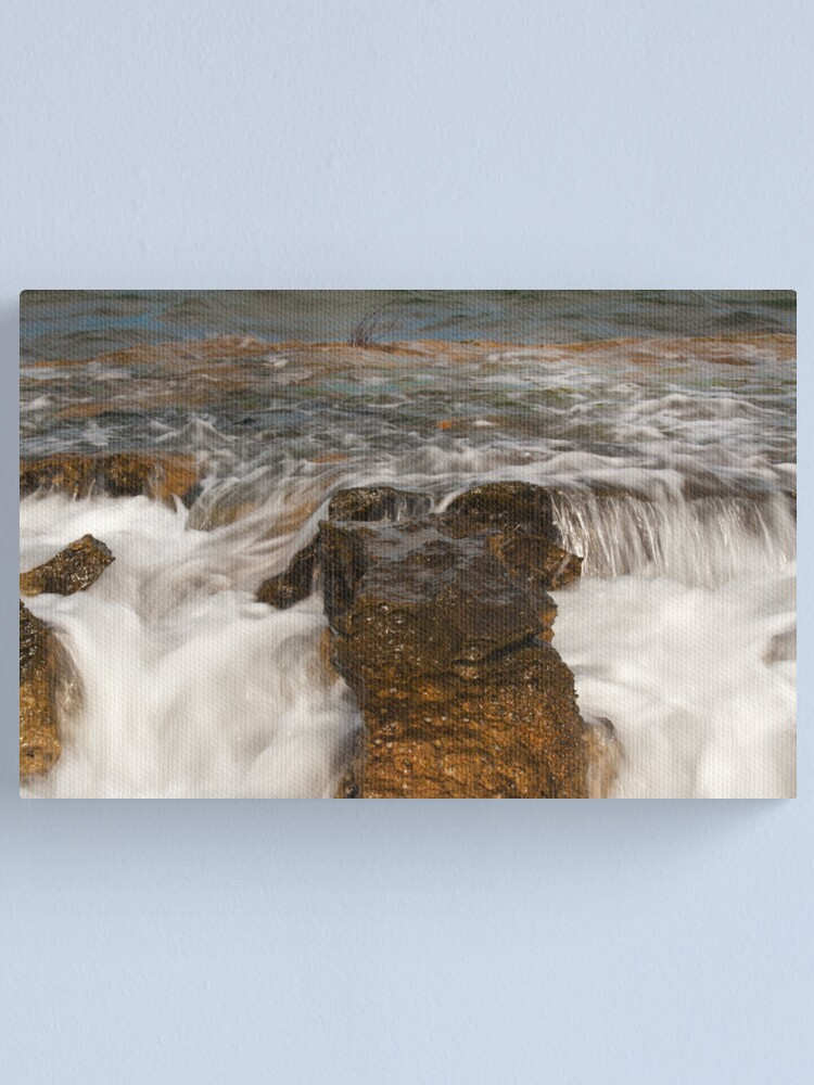 Alternate view of Stone Washed Canvas Print
