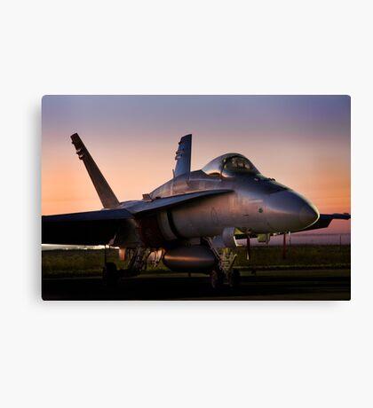Sunday Sunrise - Even Hornets Sleep Canvas Print