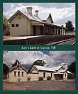 Uralla Railway Station, NSW (circa 1882) by Odille Esmonde-Morgan