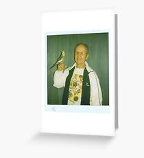 Peter Hakala with friend Greeting Card