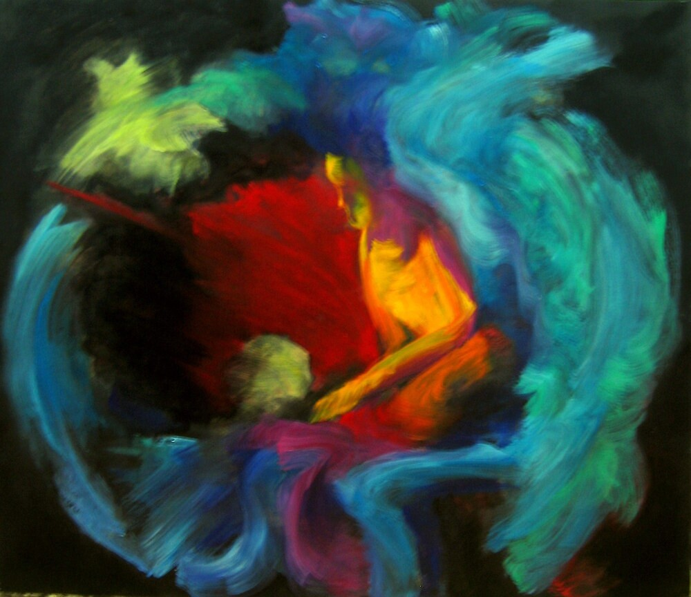 Unhappy Clown by Nurhilal Harsa