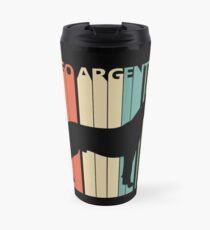 Vintage Dogo Argentino Dog Owner Gift Travel Mug