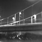 Bridge at night by pixel-cafe .de