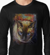 Seal Point Siamese Long Sleeve T-Shirt