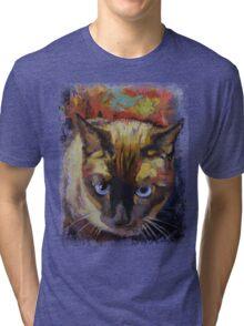 Seal Point Siamese Tri-blend T-Shirt