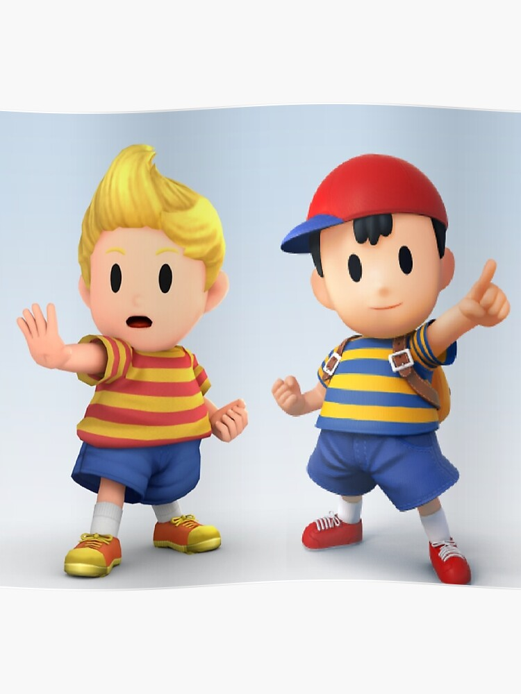 Ness and Lucas | Poster