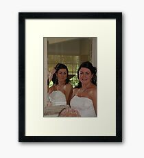 Here's looking at you ! Framed Print