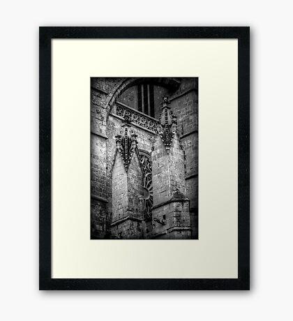 Spiritual Spires Framed Print