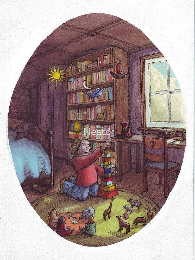 Flora's Room by Nestor