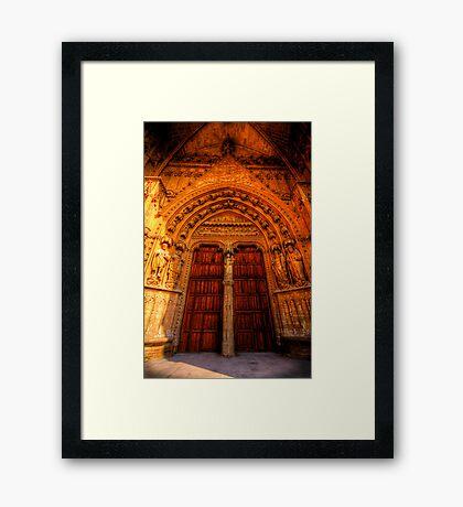 Tradesman's Entrance Framed Print