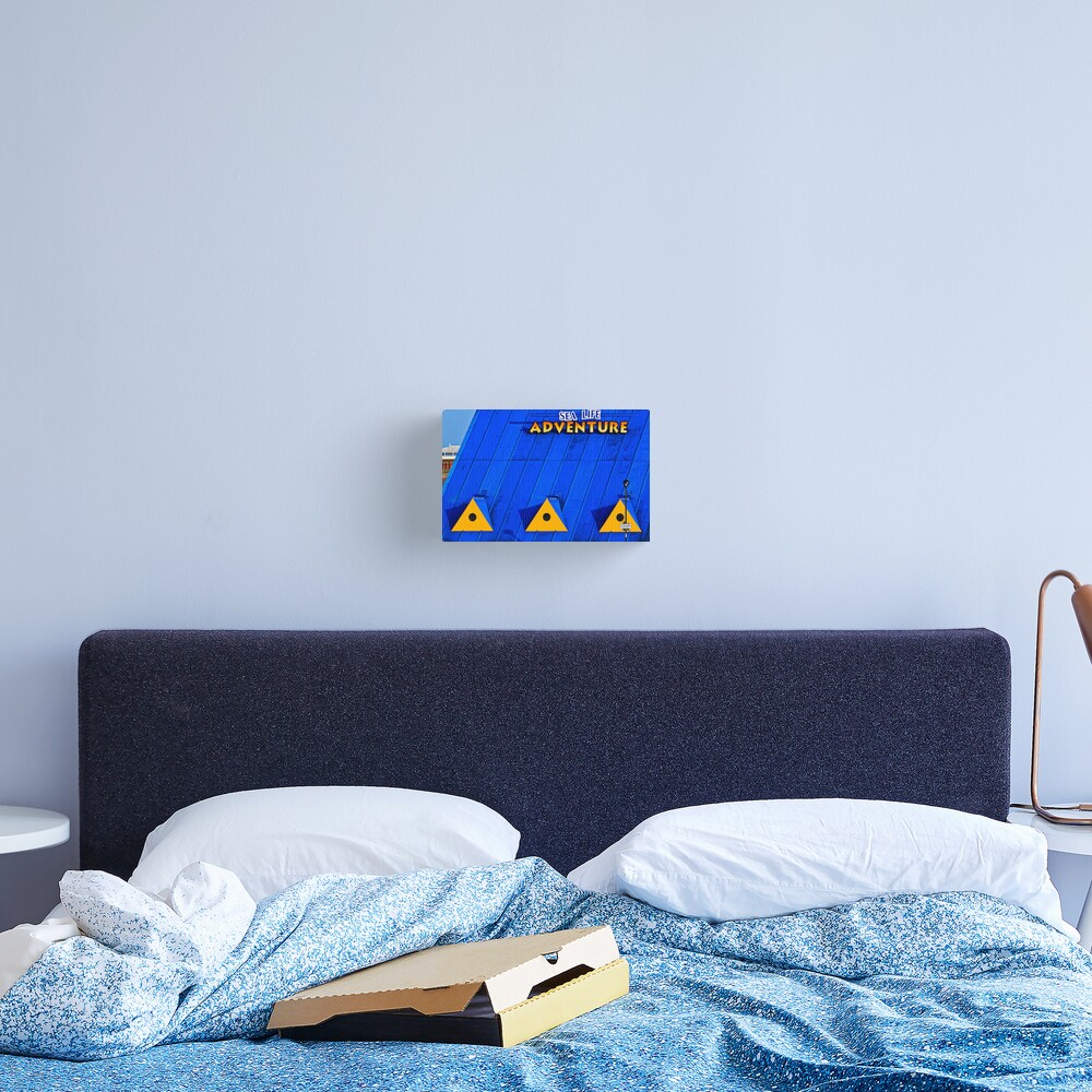Blue Yellow  Canvas Print