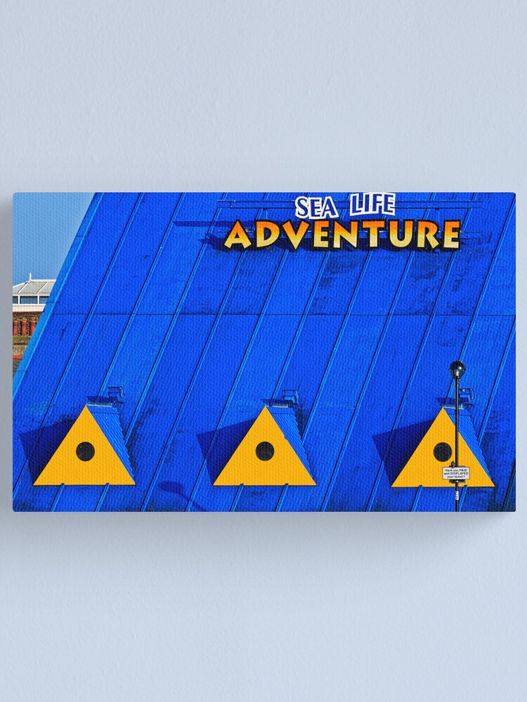 Alternate view of Blue Yellow  Canvas Print
