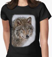 Wolf Shirt - 5 Womens Fitted T-Shirt