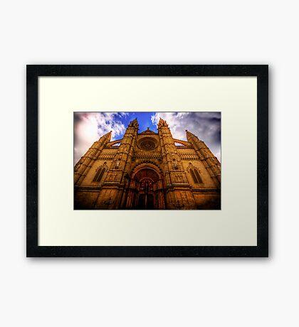 Cathedral of Santa Maria of Palma Framed Print