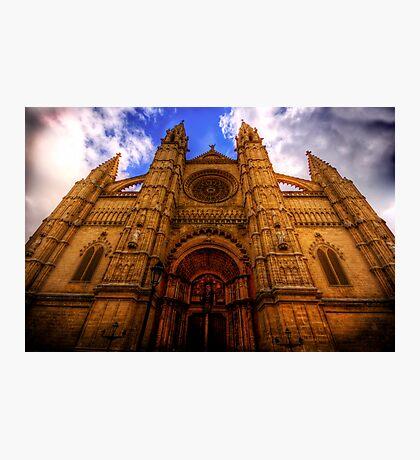Cathedral of Santa Maria of Palma Photographic Print