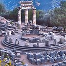 The Oracle at Delphi! by David Davies