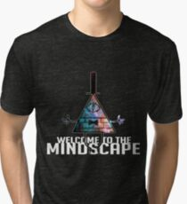 Welcome to The Mindscape -Spacey Tri-blend T-Shirt