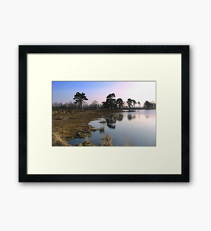 Reflections by The Lake Framed Print