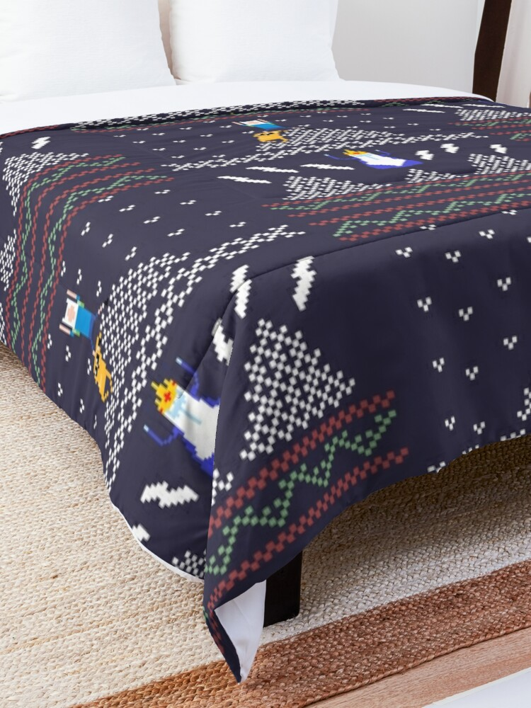 Alternate view of Ugly Christmas Shirt Time! Comforter