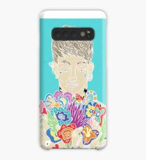 Tattooed man loving his flowers Case/Skin for Samsung Galaxy