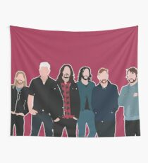 Foo Fighters Wall Tapestries Redbubble