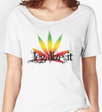 Colorful Legalize It Women's Relaxed Fit T-Shirt