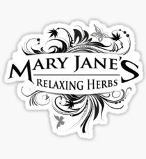 Vintage Mary Jane Sticker