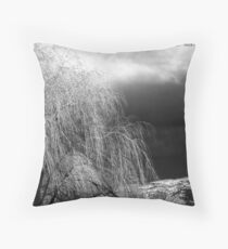 Winter's Dirge Throw Pillow