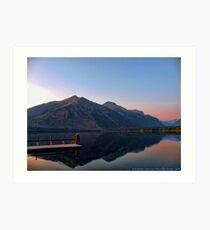 Lake MacDonald 3 Art Print