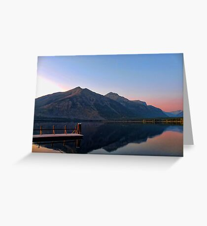 Lake MacDonald 3 Greeting Card