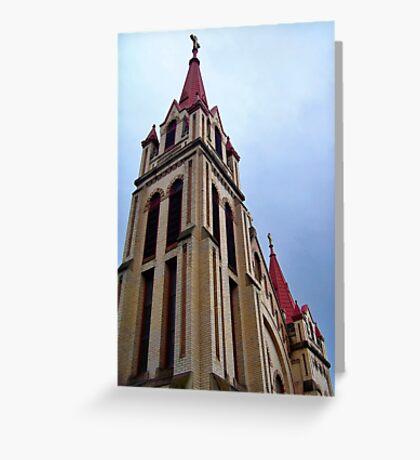 St. Matthew's Church - Kalispell, Montana (USA) Greeting Card