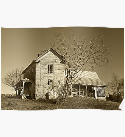 Country Farm House Poster
