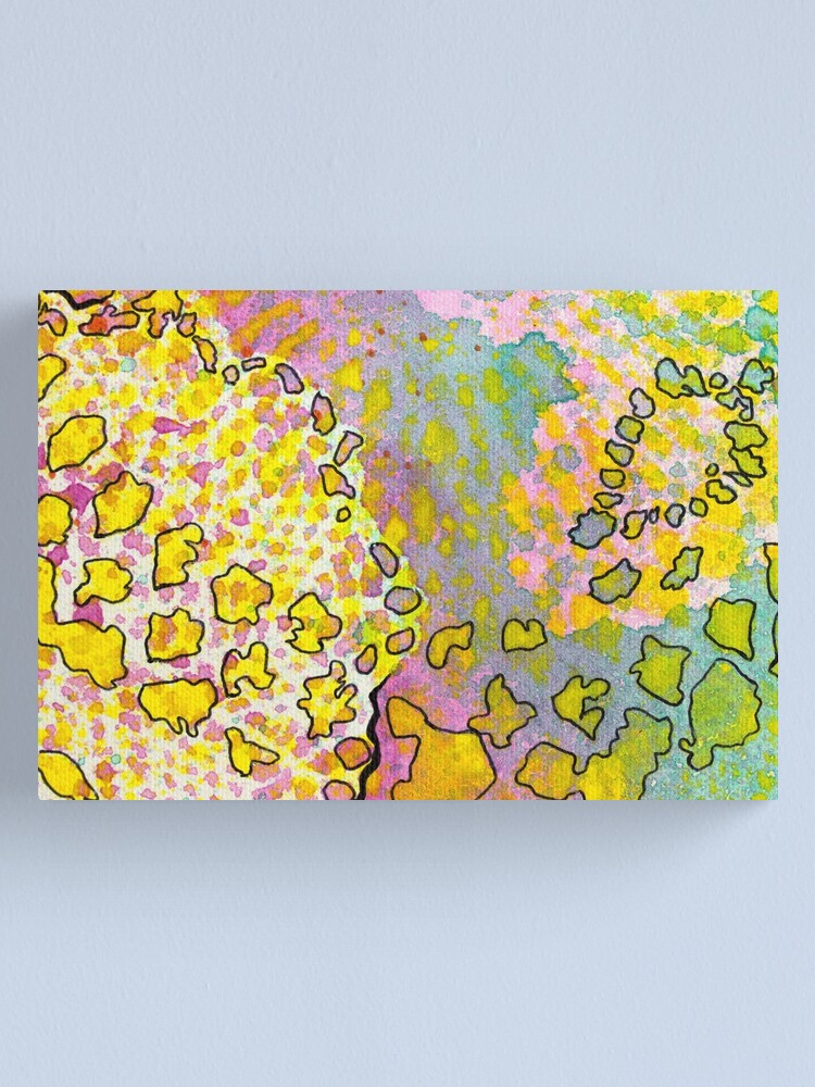 Alternate view of 9, Inset A Canvas Print