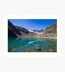 Blaue Lacke (2.290m) Art Print